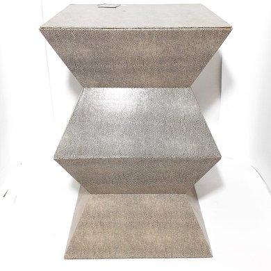 Seat Garden Cinza Com Textura Croco